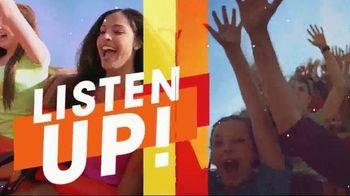 Six Flags Combo Pass Sale TV Spot, 'Spring Break Big Deals' - Thumbnail 2