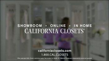 California Closets Lighting & Accessories Sales Event TV Spot, 'Save' - Thumbnail 7