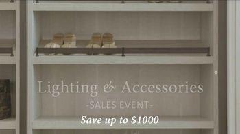 California Closets Lighting & Accessories Sales Event TV Spot, 'Save' - Thumbnail 4