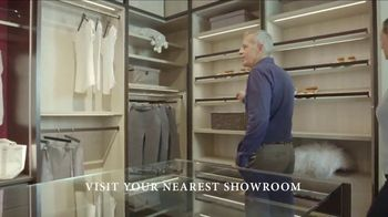 California Closets Lighting & Accessories Sales Event TV Spot, 'Save'