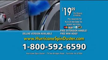 Hurricane Spin Duster TV Spot, 'Clean the Impossible: Extension' - Thumbnail 9