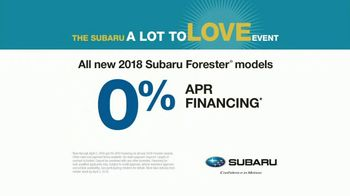 Subaru A Lot to Love Event TV Spot, 'Memories' Song by Gregory Alan Isakov [T1] - Thumbnail 9