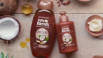 Garnier Fructis Whole Blends TV Spot, 'Tame Frizz' Song by Gillian Hills