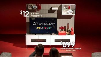 Rooms to Go Anniversary Sale TV Spot, 'Great Looks and Styles' - Thumbnail 5
