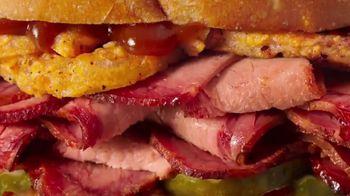 Arby's Texas Brisket TV Spot, ' Sandwich Legends: Texas Brisket' - Thumbnail 4