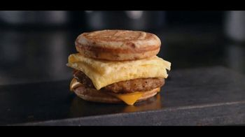 McDonald's Sausage, Egg and Cheese McGriddles TV Spot, 'Morning Routine' - Thumbnail 9