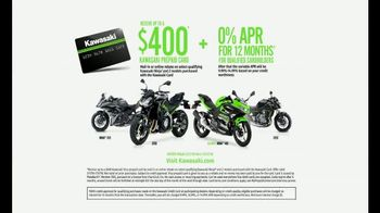 2018 Kawasaki Ninja 400 TV Spot, 'Friendly Competition: Prepaid Card' - Thumbnail 9