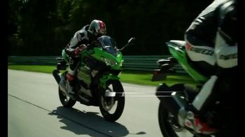 2018 Kawasaki Ninja 400 TV Spot, 'Friendly Competition: Prepaid Card' - Thumbnail 6