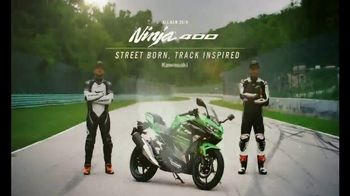 2018 Kawasaki Ninja 400 TV Spot, 'Friendly Competition: Prepaid Card' - Thumbnail 8