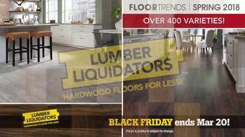 Lumber Liquidators Spring Black Friday Flooring Sale TV Spot, '2018 Styles'