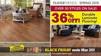 Lumber Liquidators Spring Black Friday Flooring Sale TV Spot, '2018 Styles' - Thumbnail 4