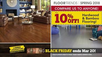 Lumber Liquidators Spring Black Friday Flooring Sale TV Spot, '2018 Styles' - Thumbnail 5