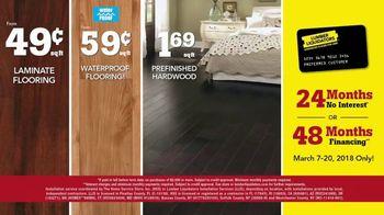 Lumber Liquidators Spring Black Friday Flooring Sale TV Spot, '2018 Styles' - Thumbnail 6
