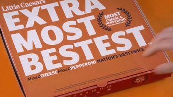 Little Caesars EXTRAMOSTBESTEST Pizza TV Spot, 'Party' - Thumbnail 1