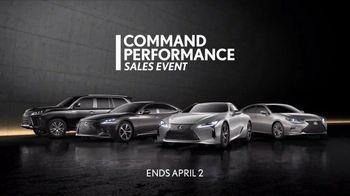 Lexus Command Performance Sales Event TV Spot, 'Craftsmanship' [T1] - Thumbnail 9