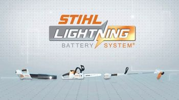 STIHL Lightning Battery System TV Spot, 'On a Single Charge' - Thumbnail 10