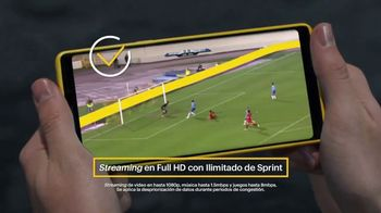 Sprint Fútbol Mode TV Spot, 'Streaming en alta definición' [Spanish] - Thumbnail 4