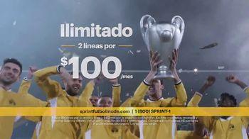 Sprint Fútbol Mode TV Spot, 'Streaming en alta definición' [Spanish] - Thumbnail 6