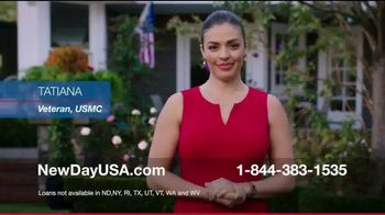 NewDay USA 100 VA Loan TV Spot, 'Tatiana: Straight Ahead Outside'