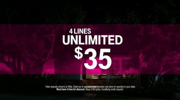 T-Mobile TV Spot, 'Babysitter: 4 Lines Unlimited' Song by Noah Cyrus - Thumbnail 8