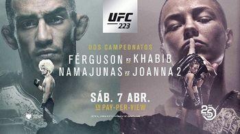 UFC 223 TV Spot, 'Ferguson vs. Khabib: dos peleas de título' [Spanish] - 34 commercial airings