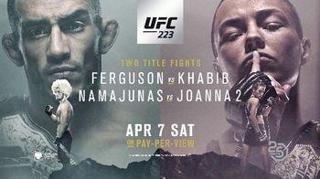 UFC 223 TV Spot, 'Ferguson vs. Khabib: Two Title Fights' - Thumbnail 10