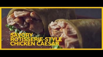 Subway Signature Wraps TV Spot, 'Tiny' - Thumbnail 9