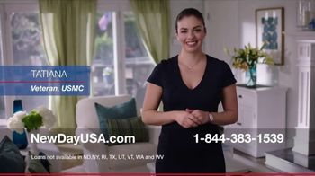 NewDay USA 100 VA Loan TV Spot, 'Money for Veterans' - Thumbnail 1
