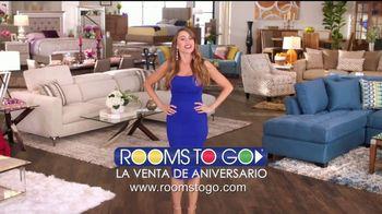 Rooms to Go Venta de Aniversario TV Spot, 'Apresúrate' [Spanish] - Thumbnail 9
