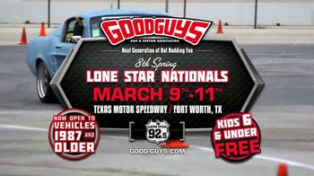 Goodguys Spring Lone Star Nationals TV Spot, '2018 Texas Motor Speedway: Experience the Power' - Thumbnail 8