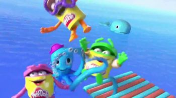 Play-Doh TV Spot, 'Cranky the Octopus & Wavy the Whale' - Thumbnail 2