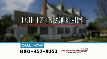 One Reverse Mortgage TV Spot, 'Home Equity'