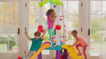 Little Tikes Fun Zone Tumblin' Tower TV Spot, 'Buckets of Fun'