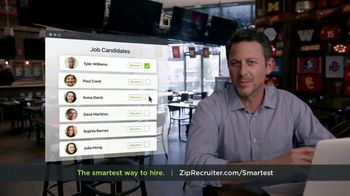 ZipRecruiter TV Spot, 'The Smartest Way to Hire' - Thumbnail 6