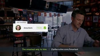 ZipRecruiter TV Spot, 'The Smartest Way to Hire' - Thumbnail 7