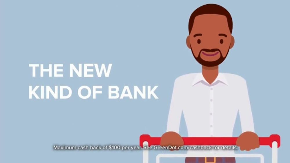 Green Dot 5 Percent Cash Back Visa Debit Card TV Commercial, 'No Fees'