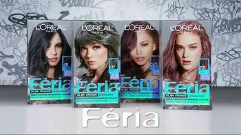 L'Oreal Paris Féria Glam Grunge TV Spot, 'Cool Gray Shades' - Thumbnail 9