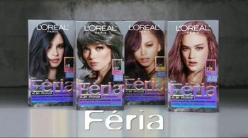 L'Oreal Paris Féria Glam Grunge TV Spot, 'Cool Gray Shades' - Thumbnail 4