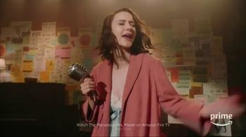 Amazon Fire TV TV Spot, 'Tell Me a Joke: The Marvelous Mrs. Maisel'