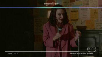 Amazon Fire TV TV Spot, 'Tell Me a Joke: The Marvelous Mrs. Maisel' - Thumbnail 4