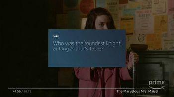 Amazon Fire TV TV Spot, 'Tell Me a Joke: The Marvelous Mrs. Maisel' - Thumbnail 5