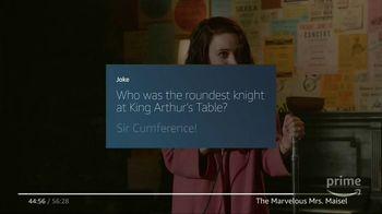 Amazon Fire TV TV Spot, 'Tell Me a Joke: The Marvelous Mrs. Maisel' - Thumbnail 6