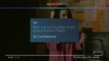 Amazon Fire TV TV Spot, 'Tell Me a Joke: The Marvelous Mrs. Maisel' - Thumbnail 7