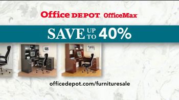 Office Depot OfficeMax Furniture Sale TV Spot, 'The Whole Nine Yards' - Thumbnail 8