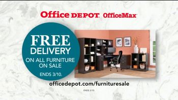 Office Depot OfficeMax Furniture Sale TV Spot, 'The Whole Nine Yards'