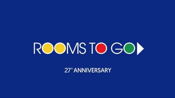 Rooms to Go Anniversary Sale TV Spot, 'Be Amazed' - Thumbnail 1