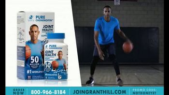 Zeria Pure Chondroitin TV Spot, 'Healthy Joints' Featuring Grant Hill - 29 commercial airings