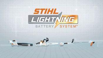 STIHL MSA 120 C-BQ TV Spot, 'Lightning Battery System: Single Charge' - Thumbnail 9