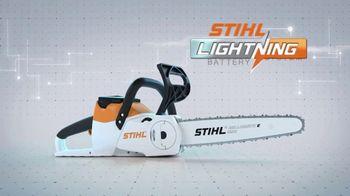 STIHL MSA 120 C-BQ TV Spot, 'Lightning Battery System: Single Charge' - Thumbnail 3