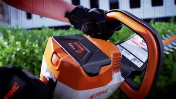 STIHL MSA 120 C-BQ TV Spot, 'Lightning Battery System: Single Charge' - Thumbnail 5
